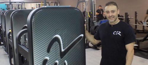 """Manel Rodríguez: """"La nova sala de fitness té molta varietat"""""""